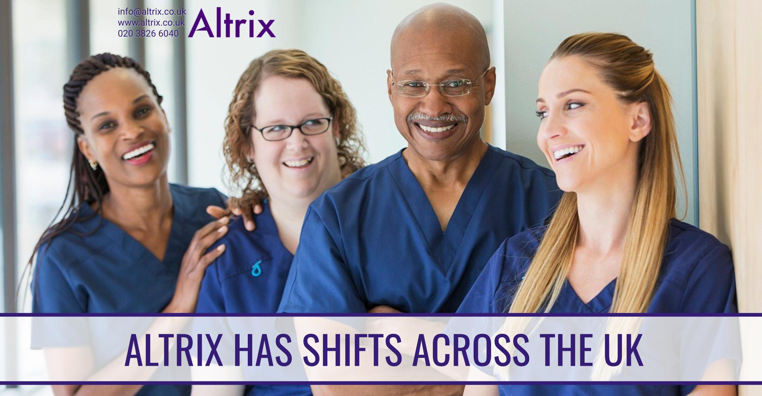 nursing shifts across the uk
