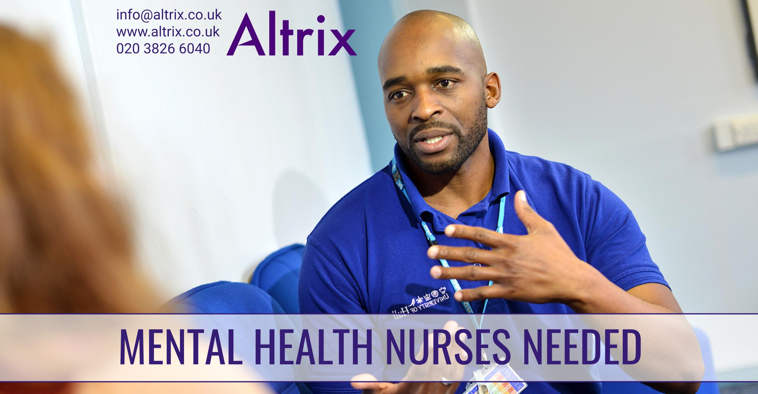 mental health workers RMNs altrix
