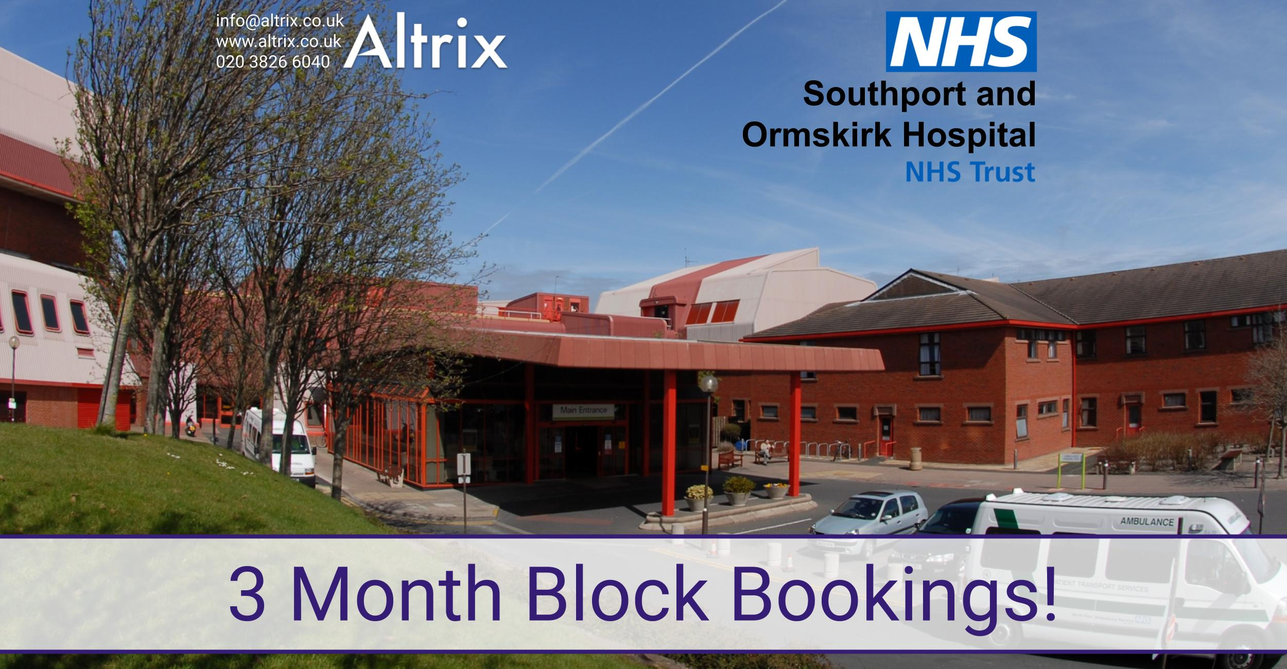 block bookings southport