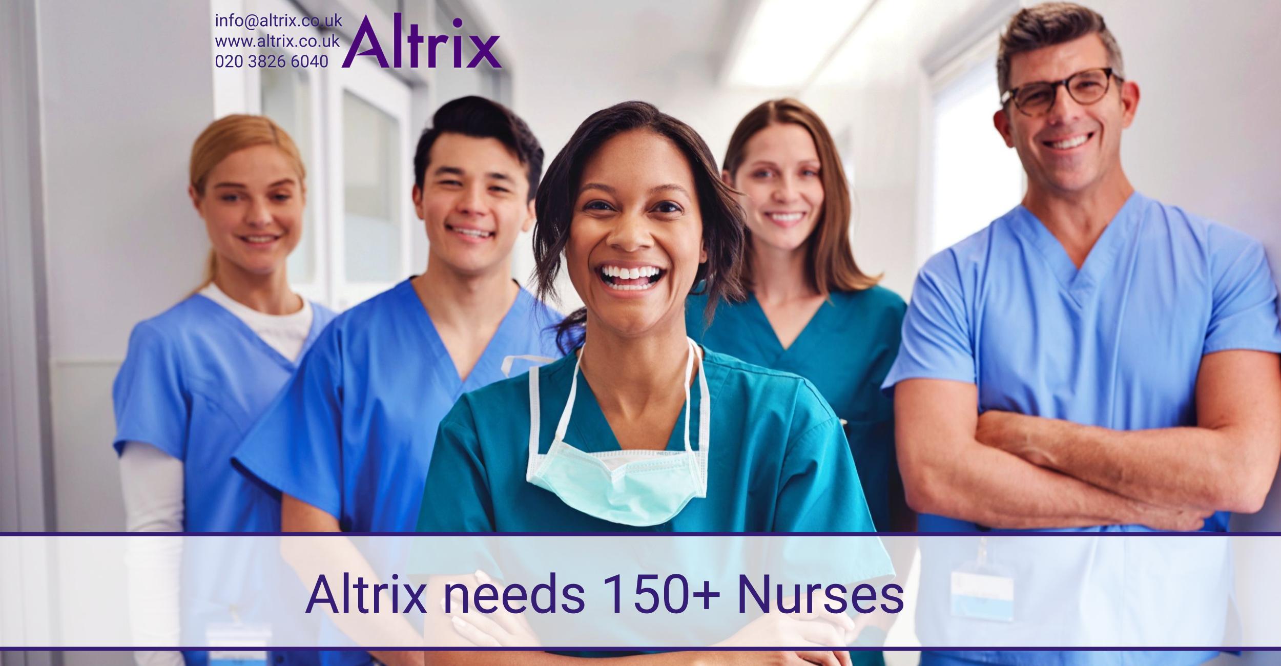 150 nurses